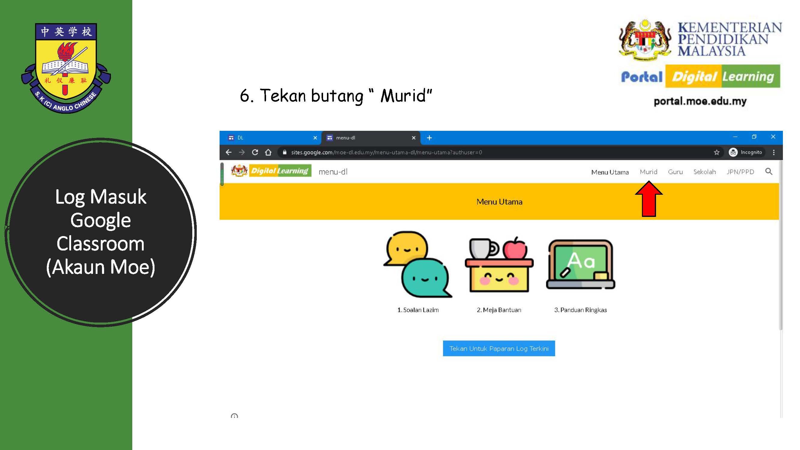 Tatacara Murid Log Masuk emel MOE_Page_07
