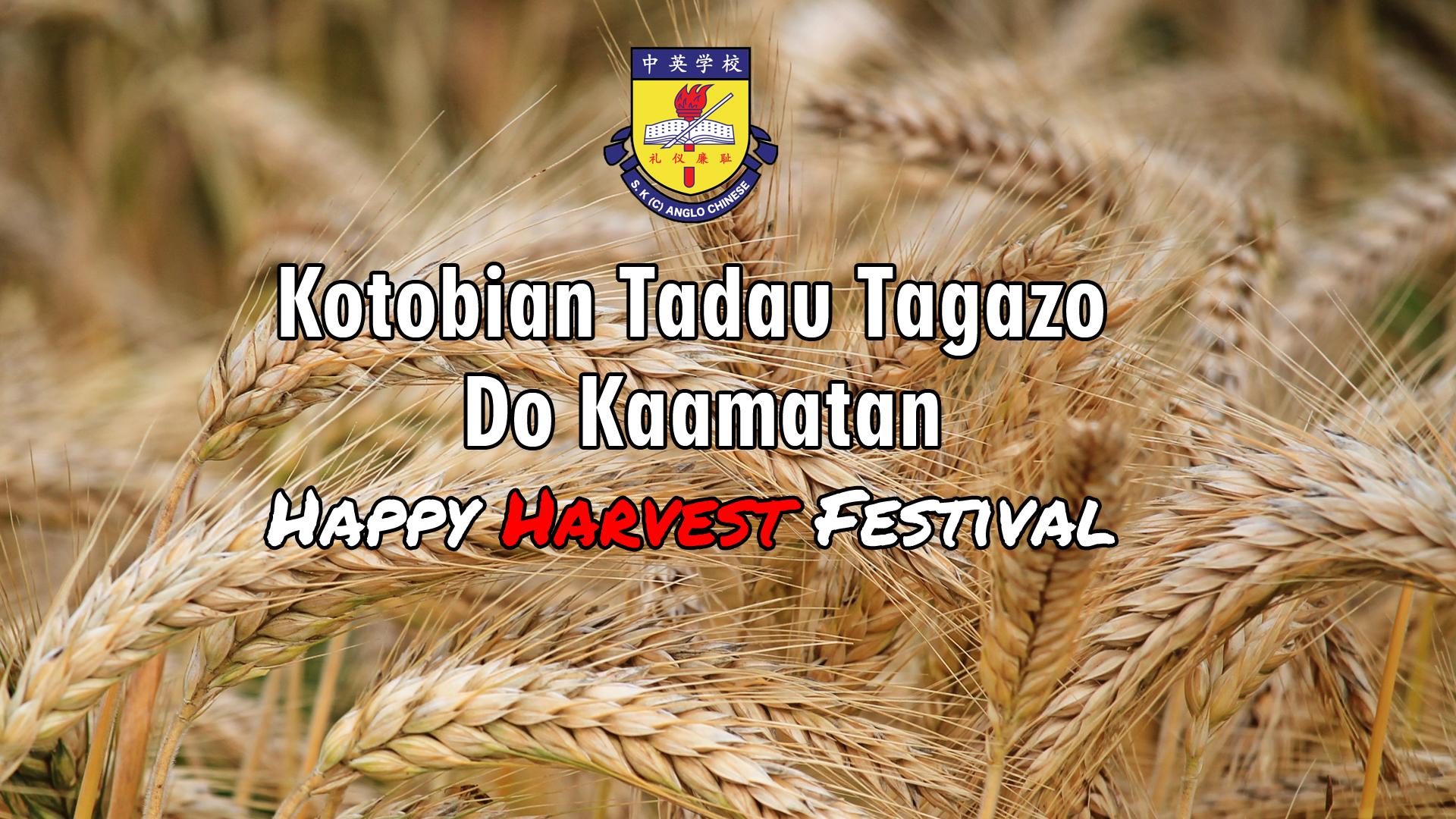 Happy Harvest Festival